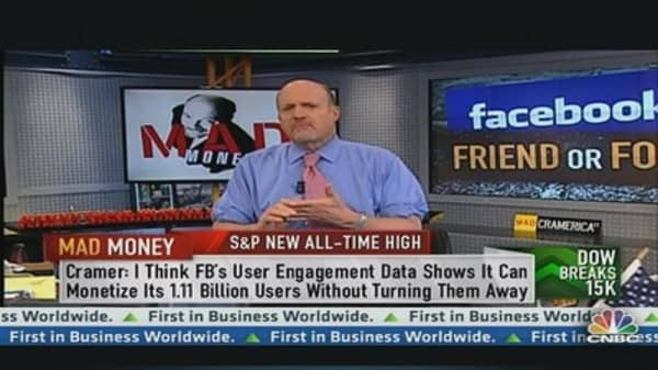 Why Cramer Likes Facebook