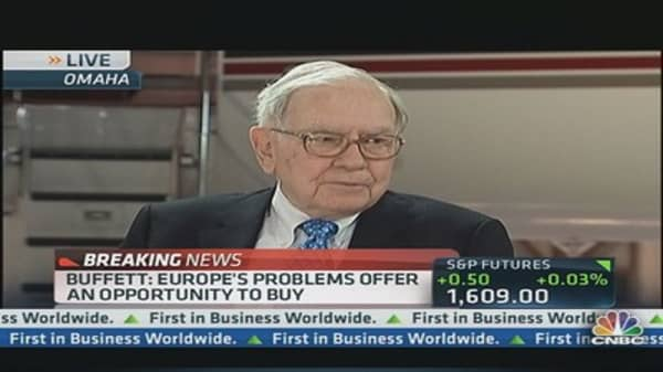 Buffett: 'We Like Good Companies at Cheap Prices'