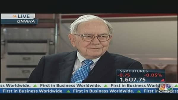 Buffett: Bonds Are 'Terrible Investment' Now