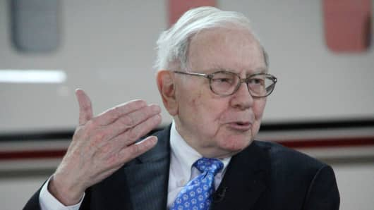 "Warren Buffett called derivatives ""financial weapons of mass destruction"""