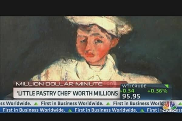 'Little Pastry Chef' Could Be Worth Millions