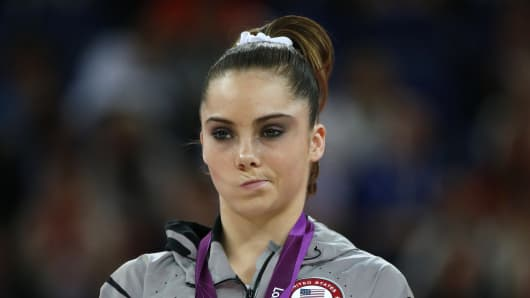 "CEOs have their ""not impressed"" face on about the economy (like 2012 Olympic gold medalist McKayla Maroney)."