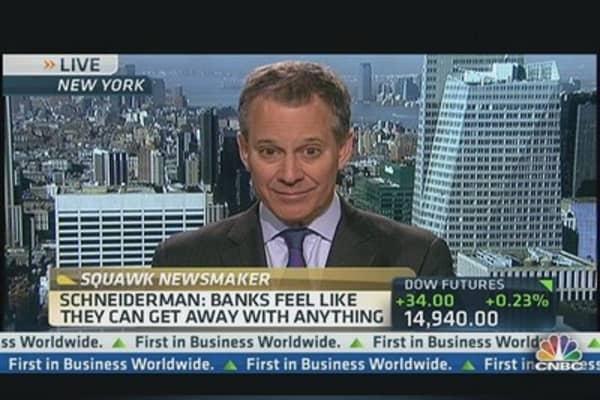 NY AG Sues Wells Fargo & BofA