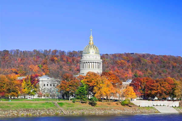 West Virginia Capital Building.