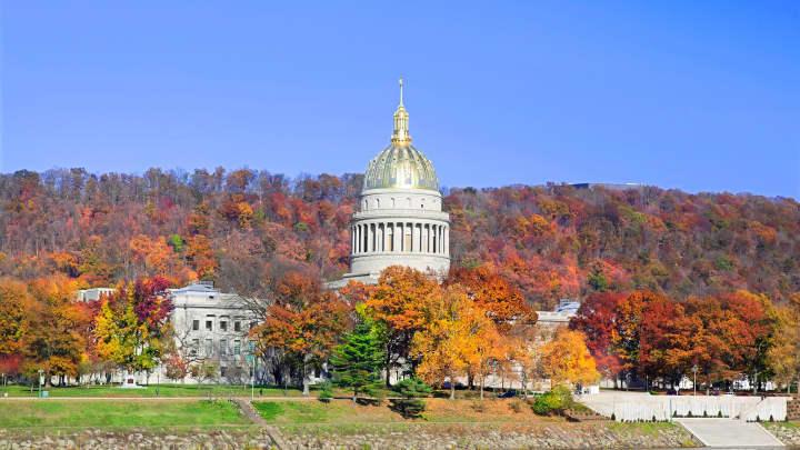 West Virginia Capital Building.