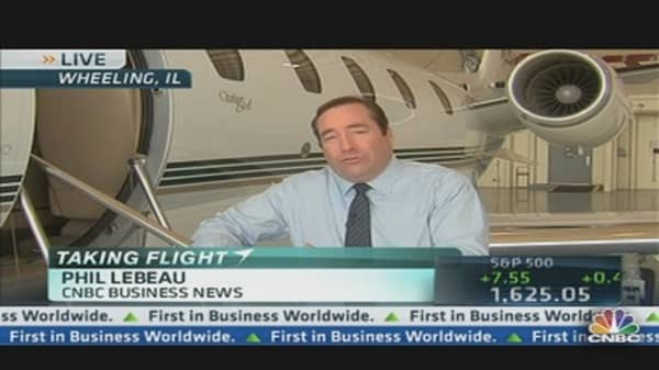 The Business Jet Indicator