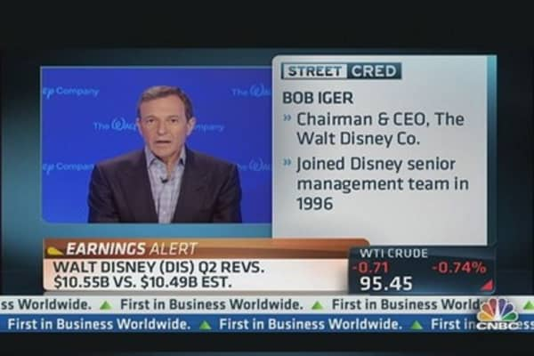 Disney CEO: Excellent Quarter Across the Board