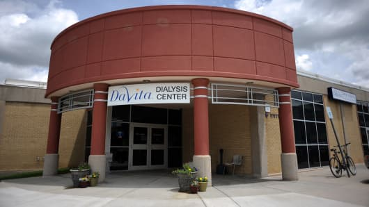 DaVita Dialysis Center in Lowry, Colorado.