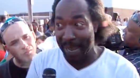 Charles Ramsey helped rescue Amanda Berry and others from a house in Cleveland, Ohio.