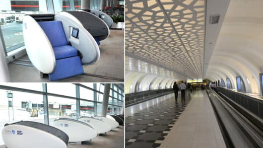 Abu Dhabi International Airport is the world's first airport to launch GoSleep pods.