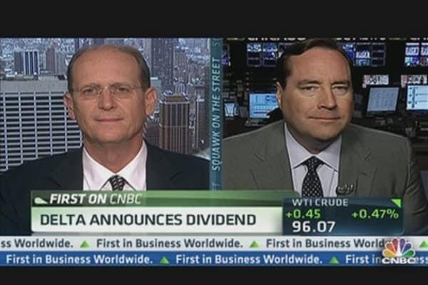 Delta Rewards Investors With Dividend