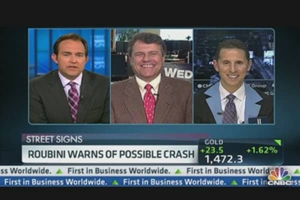 Roubini Warns of Possible Crash