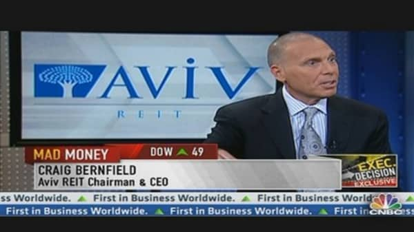 Aviv REIT CEO Talks Business