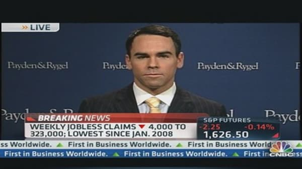 Initial Jobless Claims Drop 4,000 to 323,000