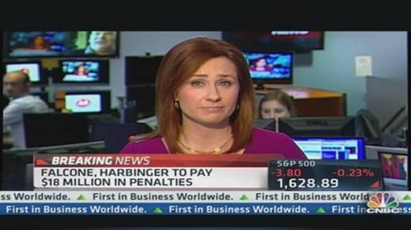 Falcone, Harbinger Settle With SEC