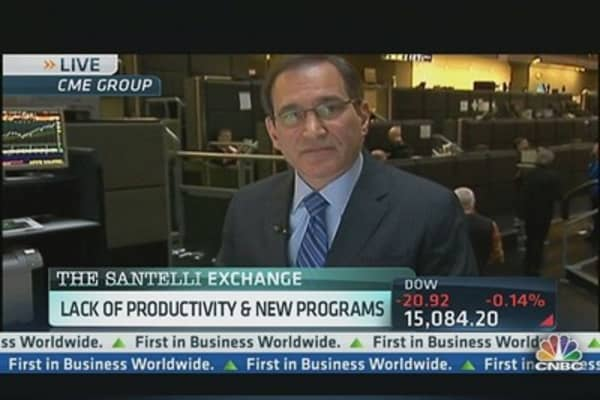Break Out the Bandages, Santelli's Tackling ObamaCare