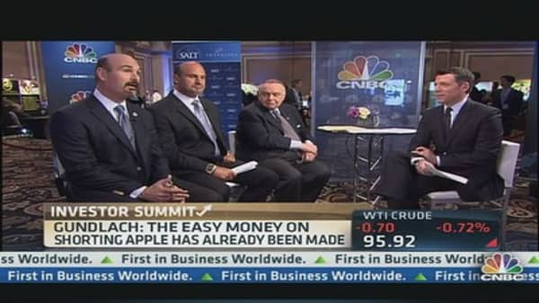 Gundlach on Apple : I'm Not Positive or Negative