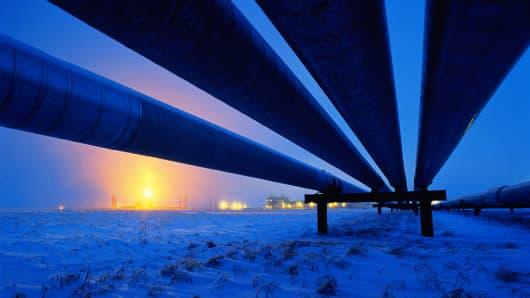Premium: Prudhoe Bay Alaska Oil pipeline