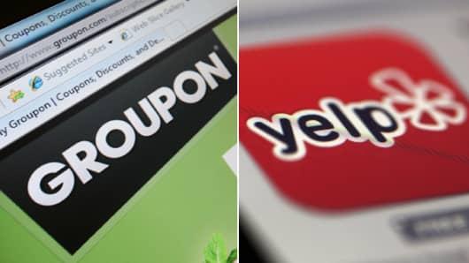 Groupon Yelp