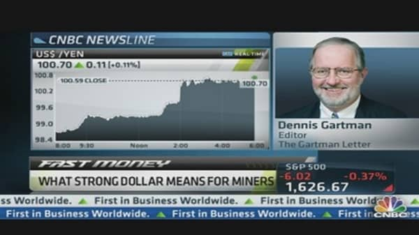 'Ridiculously Bearish for Miners': Dennis Gartman