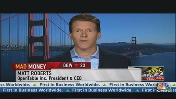 OpenTable CEO: Huge Growth Opportunity Ahead