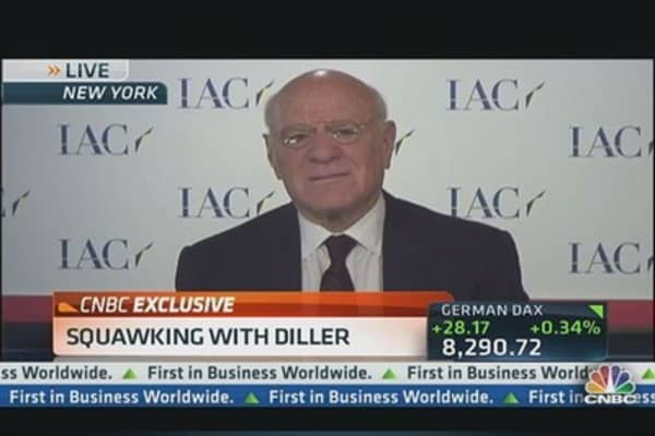 One-on-One With Barry Diller