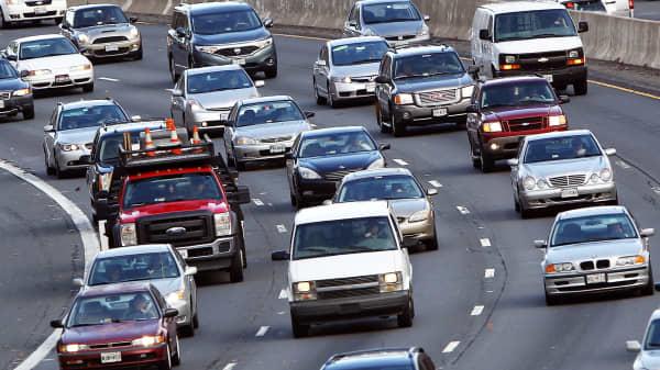 Driving highway