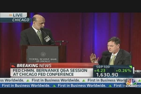 Bernanke Q&A on Economy, Markets & Banks