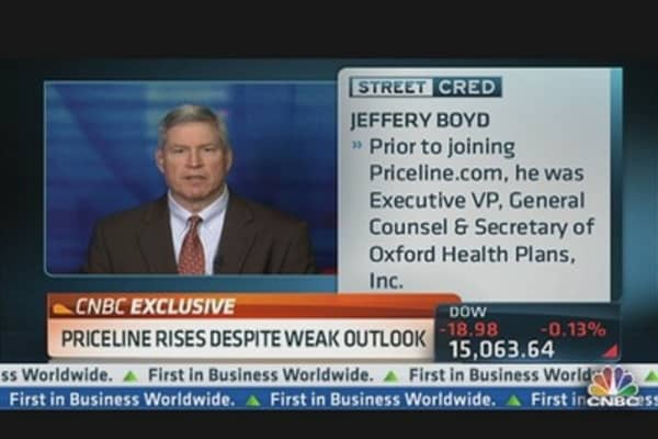 Priceline CEO: 'First Priority' to Build Business