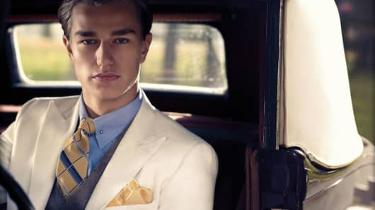The Great Gatsby collection from Brooks Brothers.