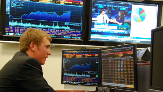 The Bloomberg Terminal computer system