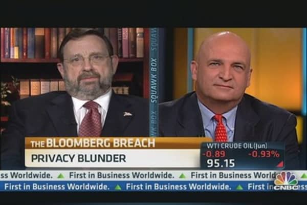 Privacy Blunder at Bloomberg Escalates