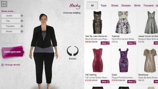 3 D Tech Lets Online Shoppers Try On Clothes