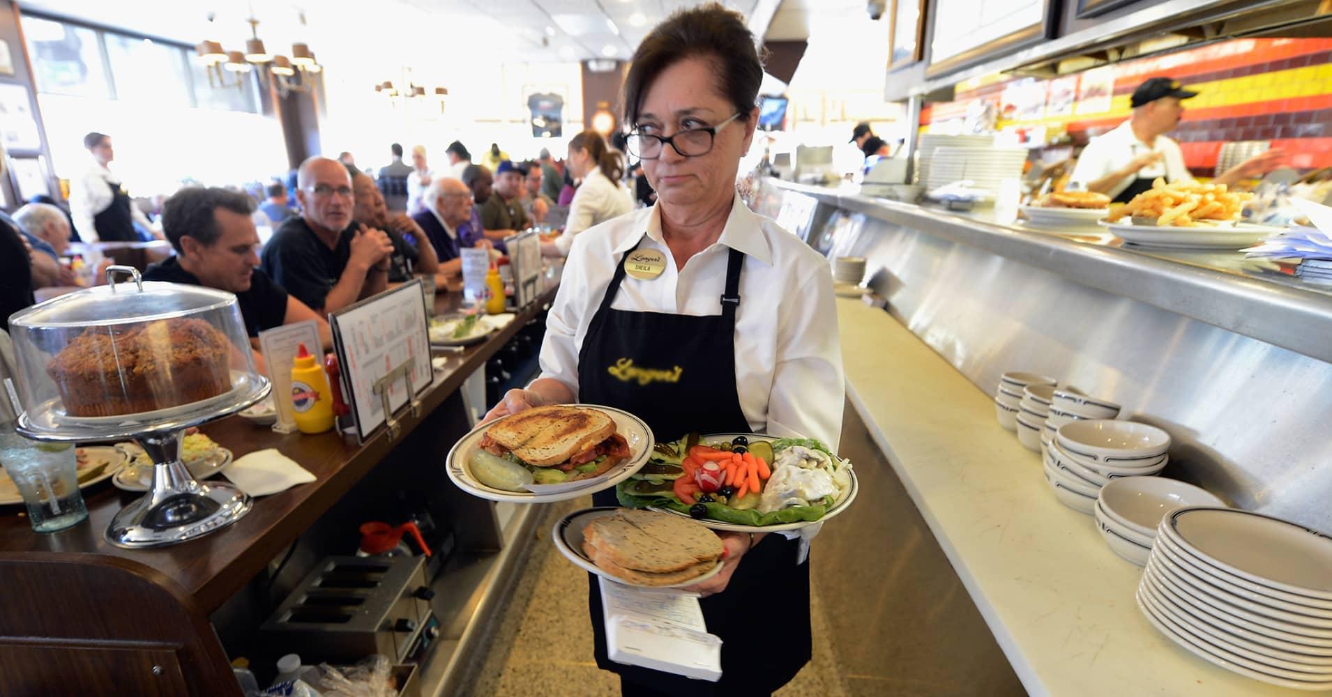 waitress employment