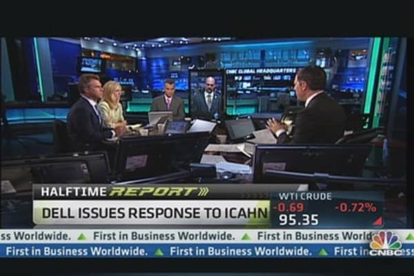 Taking Sides in Carl Icahn's Dell Bid