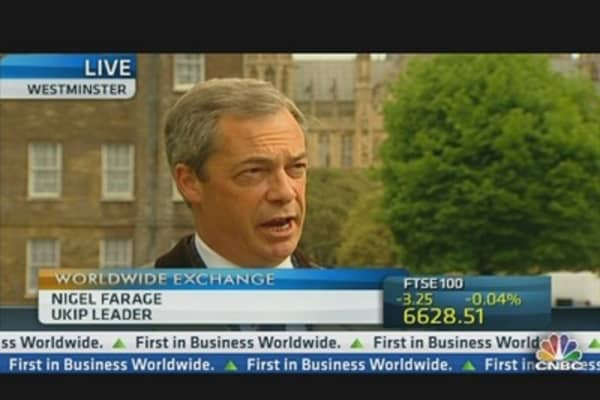 The UK Needs an EU Referendum ASAP: UKIP's Farage