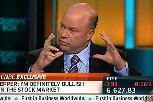 Tepper: Case Closed! Stocks Going Higher