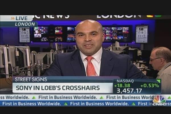Sony In Loeb's Crosshairs