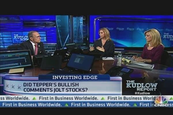 Tepper's Bullish Case for Stocks