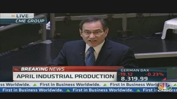Industrial Production Down 0.5% in April