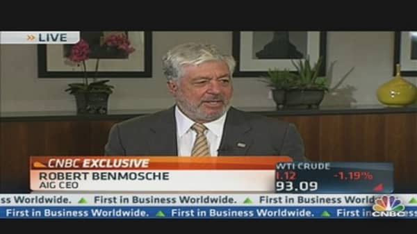 AIG's Benmosche Meets With Shareholders