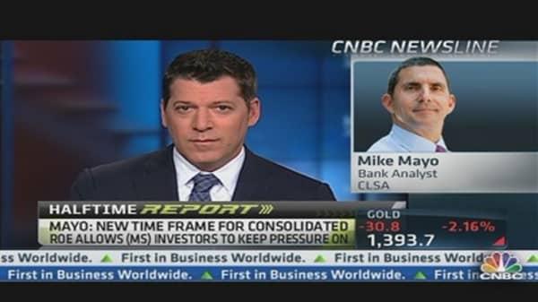 Big Upside in Morgan Stanley: Analyst