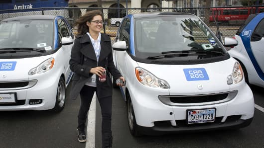 Car sharing programs are becoming a good option for those who want to avoid car ownership.