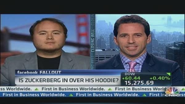 Is Zuckerberg In Over His Hoodie?