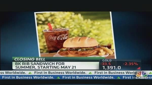 McRib to Have Competition