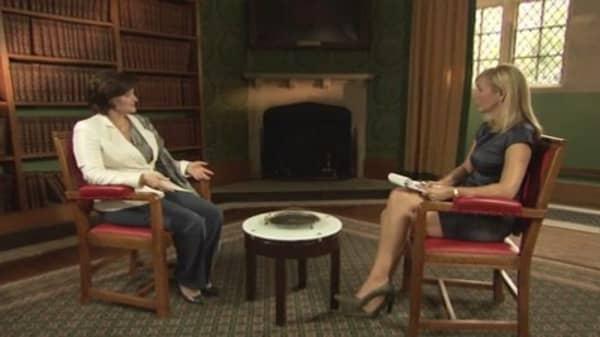 CNBC Meets: Cherie Blair, Part One