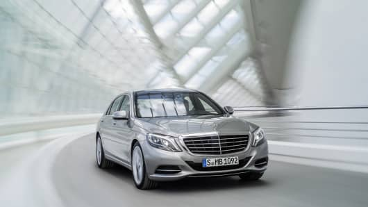 Mercedes-Benz launches their new S-Class series