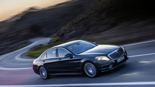 Mercedes-Benz new S-Class Series.