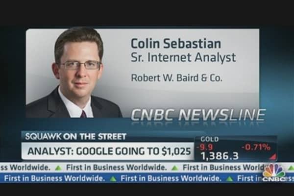 Google's March to $1,000: Analyst