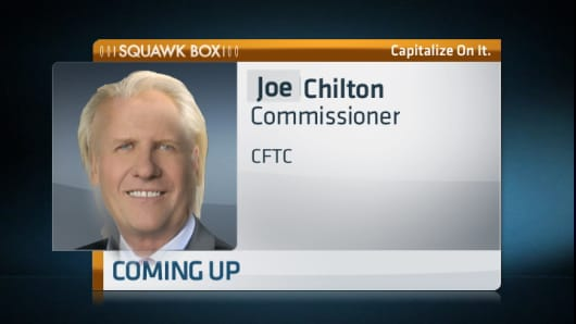 Control photo mashup of CNBC's Joe Kernen with CFTC's Bart Chilton's hair.